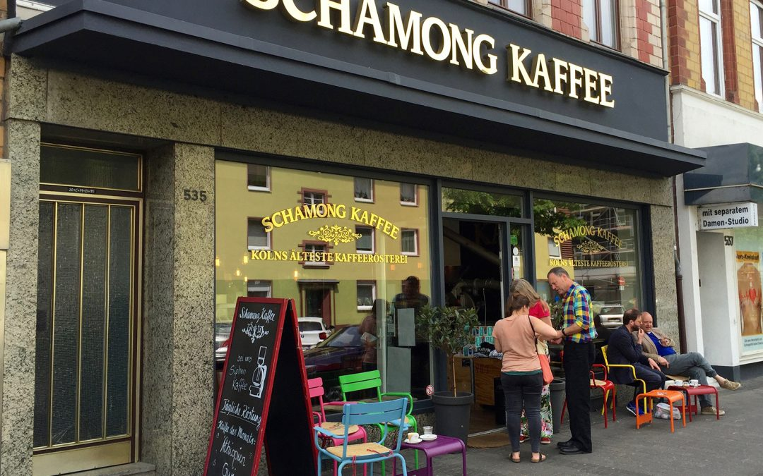 Cologne Places: Schamong Kaffee