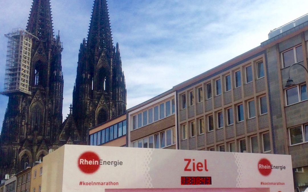 Cologne Marathon takes over our city