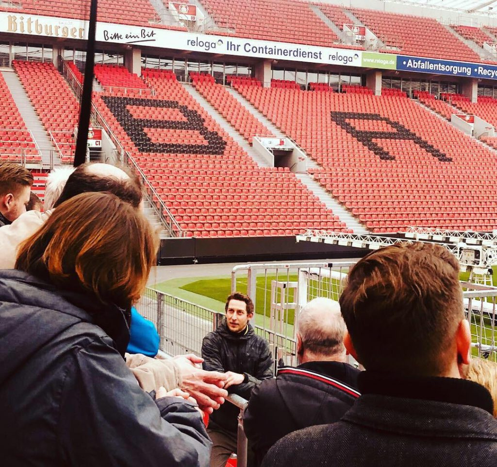 Tour given by former striker, Stefan Kiessling