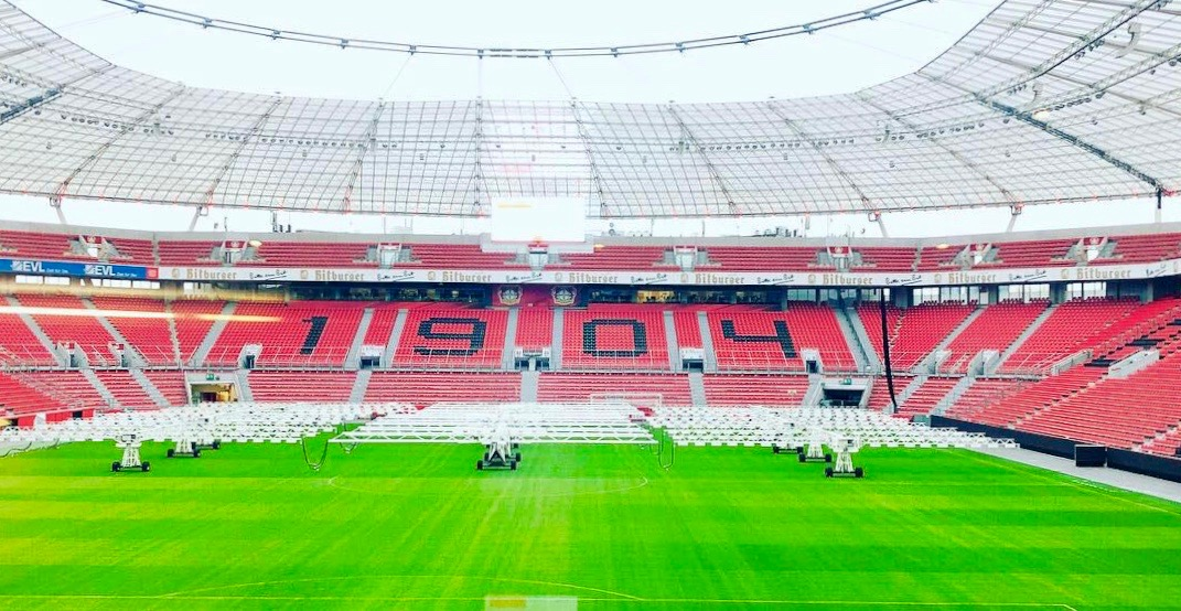 Recommended: events and tours at BayArena Leverkusen