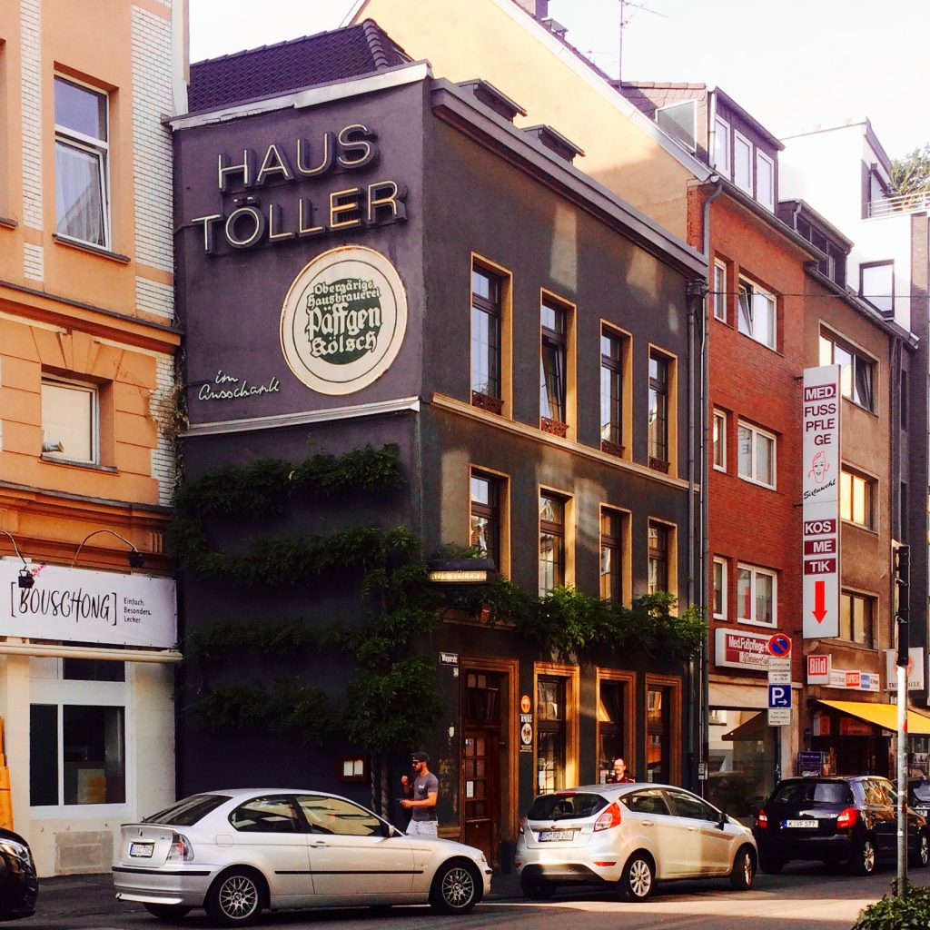 Street view of Haus Töller in Cologne